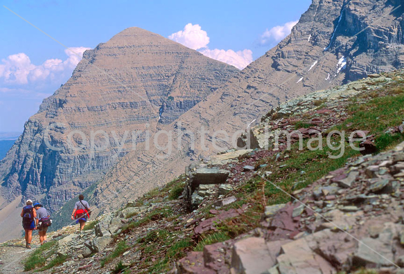 HI mt glacier 7 - ORps - jpeg - Hikers in Montana's Glacier National Park