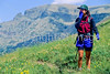Hiker(s) in Glacier National Park, Montana - 44 - 72 dpi