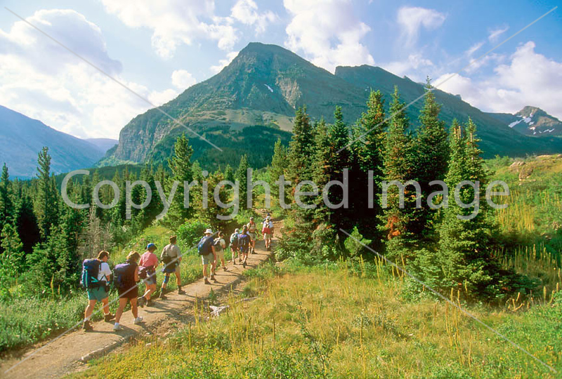 HI mt glacier 19 - ORps - jpeg - Hikers in Montana's Glacier National Park