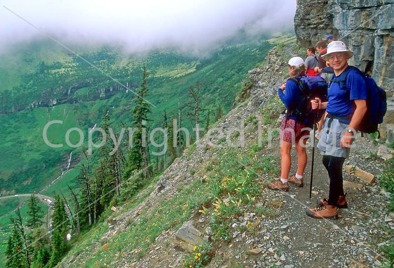 HI mt glacier 33 - ORps - jpeg - Hiker(s) in Montana's Glacier National Park