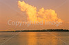Sunset over the Ohio River at Fort Massac in southern Illinois - 1 - 72 ppi