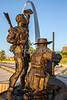Lewis & Clark on St  Louis waterfront, returning-30011 - 72 ppi