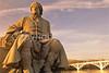 Frances Vigo statue at George Rogers Clark Nat'l Historical Park, Vincennes, IN -  10 - 72 ppi