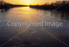 Winter sunset over Wabash River at George Rogers Clark Nat'l Historical Park, Vincennes, IN -  13 - 72 ppi