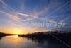 Winter sunset over Wabash River at George Rogers Clark Nat'l Historical Park, Vincennes, IN -  4 - 72 ppi