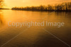 Winter sunset over Wabash River at George Rogers Clark Nat'l Historical Park, Vincennes, IN -  15 - 72 ppi