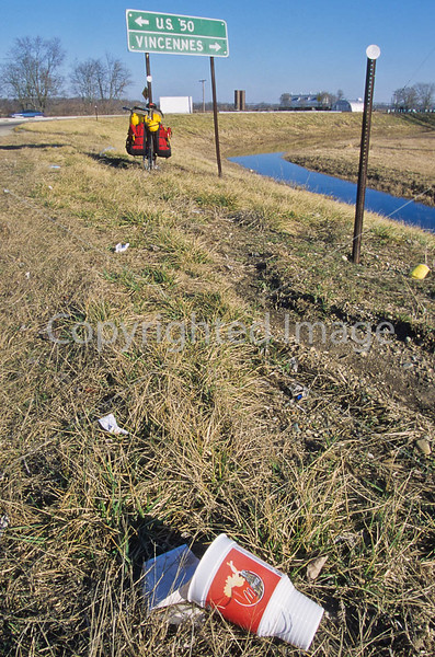 Litter along George Rogers Clark's route across south-central Illinois - 1 - 72 ppi