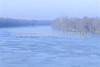 Winter sunrise over Wabash River at George Rogers Clark Nat'l Historical Park, Vincennes, IN -  2 - 72 ppi