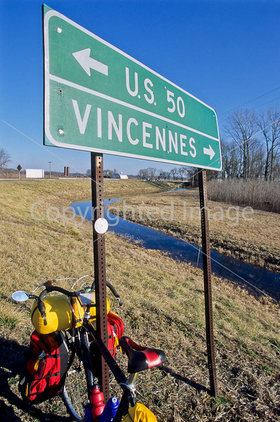 Touring bike on George Rogers Clark's route across south-central Illinois - 4 - 72 ppi