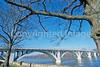 Lincoln Memorial Bridge over Wabash River near Vincennes, Indiana - 5 - 72 ppi