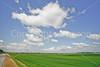 Bayou & fields riding north of Kaskaskia, Illinois, along Mississippi River-0139 - 72 ppi