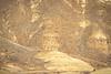 Winter bike tourer on dirt road in Oregon's John Day Fossil Beds Nat'l Monument - 72 ppi 9