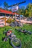 Bikers at Trailside Cafe & Bike Shop on Missouri's Katy Trail - 132 - 72 ppi
