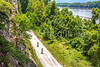 Cyclist(s) on Missouri's Katy Trail near Rocheport - C3-0050 - 72 ppi