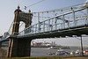 _MG_0120 - John A  Roebling Suspension Bridge between Cincinnati, OH & Covington, KY