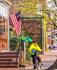 Cyclist in St  Charles, MO, in springtime - 4-Edit - 72 ppi