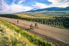 Cyclists near Lemhi Pass on Lewis & Clark Trail, ID-MT border - 3 - 72 ppi