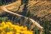 Biker on Lewis & Clark Trail, nearing Lemhi Pass on Montana-Idaho border - 7 - 72 ppi
