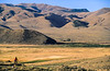 Biker on Lewis & Clark Trail, nearing Lemhi Pass on Montana-Idaho border - 2 - 72 ppi