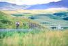 Cyclist(s) on L&C Trail near Fort Benton, Montana - 1-2 - 72 ppi
