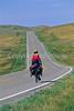 Tourer on Lewis & Clark Trail; Montana Hwy 81 near Lewistown - 2