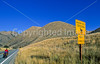Tourer on ACA's Lewis & Clark Trail; US 93 near Salmon, Idaho - 7 - 72 ppi