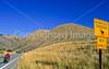 Tourer on ACA's Lewis & Clark Trail; US 93 near Salmon, Idaho - 6 - 72 ppi