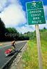 Tourer on Oregon Coast Bike Route on US 101 near Reedsport - 6 - 72 ppi