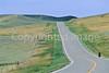 Tourer on Lewis & Clark Trail; Montana Hwy 81 near Lewistown - 3