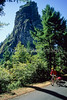 Tourer at Beacon Rock on WA side of Columbia River Gorge Scenic Area - 3 - 72 ppi