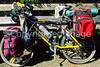 Touring bike on Oregon Coast Bike Route on US 101 near Reedsport - 7 - 72 ppi
