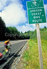 Tourer on Oregon Coast Bike Route on US 101 near Reedsport - 4 - 72 ppi