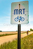 Cyclist on MRT west of Ripley, TN, on state hwy  19 - C2-0023 - 72 ppi
