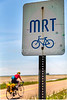 Cyclist on MRT west of Ripley, TN, on state hwy 19 - C3-0022 - 72 ppi