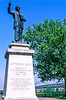 Jefferson Davis statue on Memphis, Tennessee, waterfront - 1 - 72 ppi
