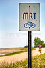 Cyclist on MRT west of Ripley, TN, on state hwy 19 - C3-0005 - 72 ppi