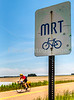 Cyclist on MRT west of Ripley, TN, on state hwy 19 - C3-0035 - 72 ppi-2