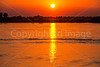 Sunset over Mississippi River, viewed from Memphis, TN, waterfront - 3 - 72 ppi