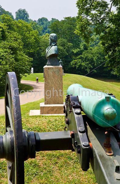 Cyclist in Vicksburg Nat'l Military Park, MS - D2-C3-0163 - 72 ppi