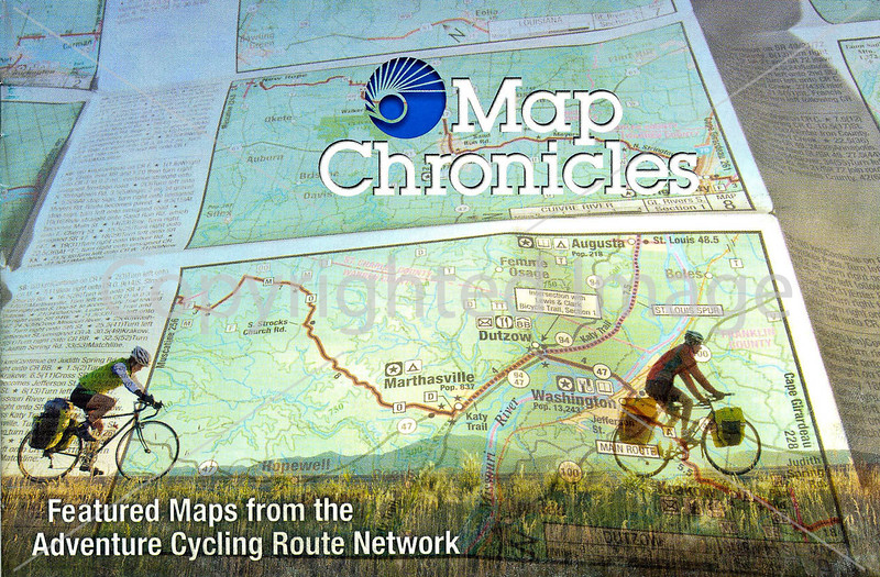 Adventure Cycling - Map Chronicles - 2012-1