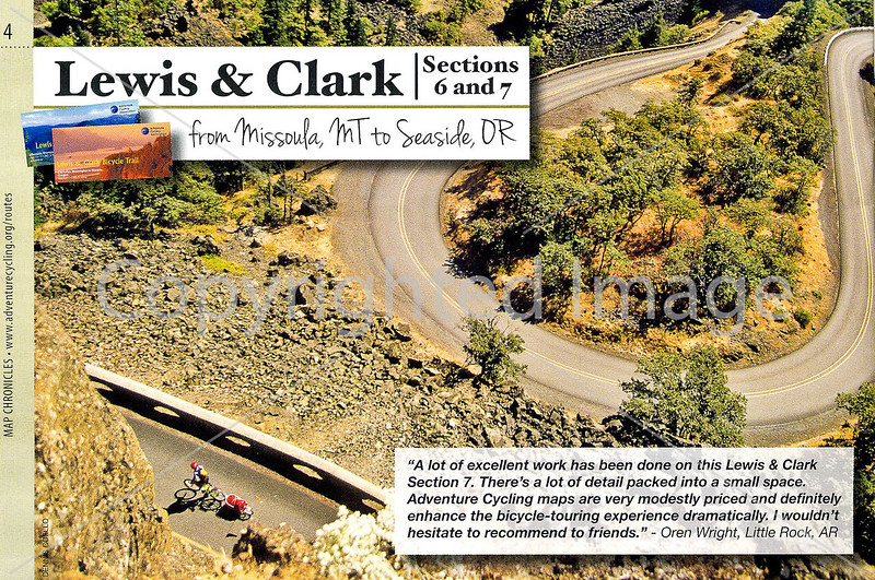 Adventure Cycling - Map Chronicles - 2012-2