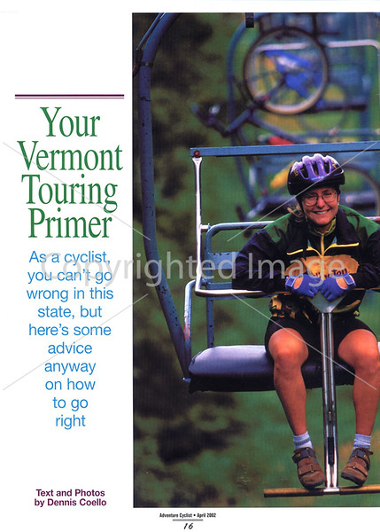 Adventure Cyclist - Vermont - Page 1
