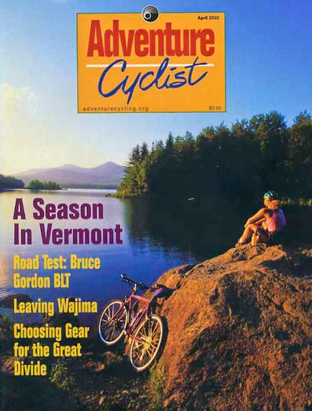Adventure Cyclist - Vermont - Cover