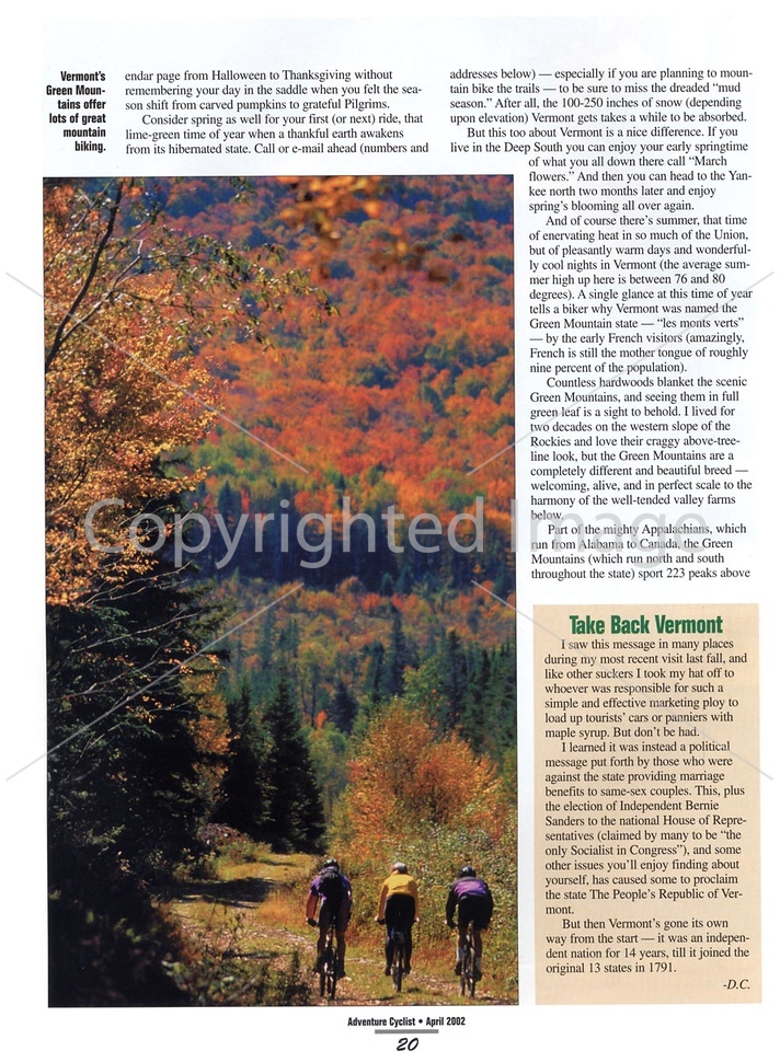 Adventure Cyclist - Vermont - Page 5