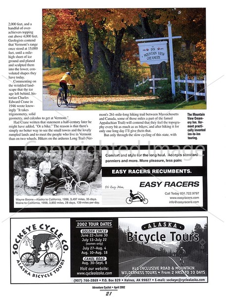 Adventure Cyclist - Vermont - Page 6