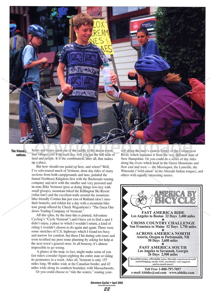 Adventure Cyclist - Vermont - Page 7