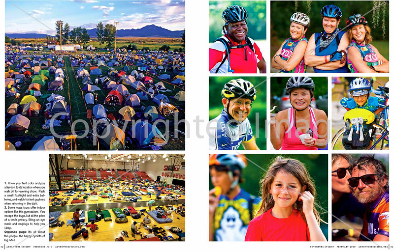 Adventure Cyclist - Event Rides Photo Essay - Pages 3 & 4