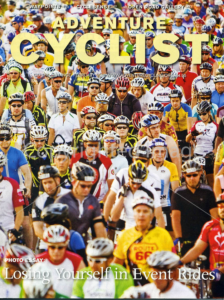 Adventure Cyclist - Event Rides Photo Essay - Cover