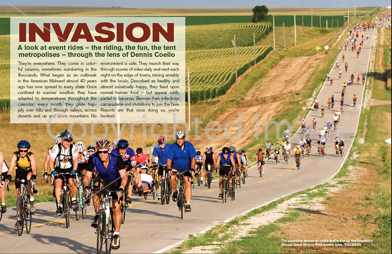 Adventure Cyclist - Event Rides Photo Essay - Pages 1 & 2