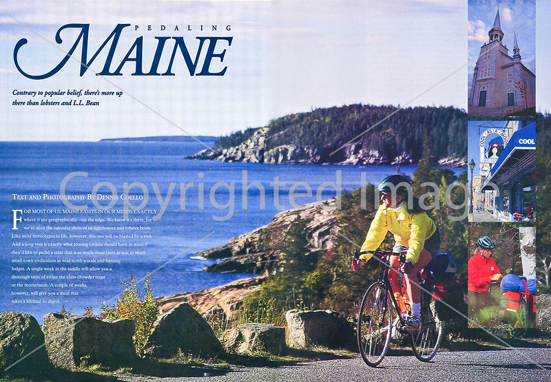 Pedaling Maine - Pages 1 & 2